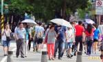 明天高溫仍達36度 輕颱昌鴻暫不影響台灣