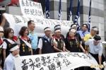 新北市議員黃永昌抗議 國民黨暫緩徵召盧嘉辰