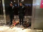 AIT美國獨立紀念日酒會 防爆犬進駐安檢