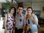 南韓正妹姊妹花迷途 「歐爸」帥警帶路「好讚!」