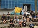新竹地區高中反黑箱課綱 街頭宣講