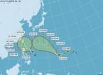 「雙颱」逼近 週日開始影響台灣