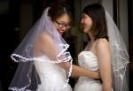 中國女權人士舉行婚禮 盼推動同性婚姻