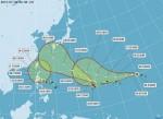 11號颱風「南卡」形成 3颱進逼台灣