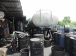 回收廢油加工販售 高雄港警扣3萬多公升