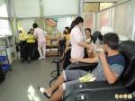 新營捐血室喬遷後首辦捐血活動 人數破300人
