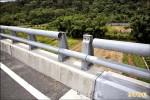 北橫公路新路段 圍欄兩度遭竊