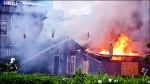 攝影家拍荷花 也拍下「新瓦屋」火警