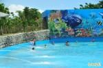 花蓮親水公園造浪池「水太淺」變SPA池