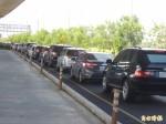 9車故障雪隧龜速 北上車道一度全線封閉
