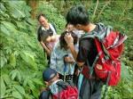婦墜雲森瀑布山坡 受傷獲救