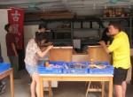 台北古風里免費修理站 修補豪宅區風情