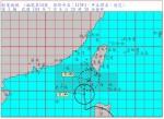 蓮花颱風龜速 預計明天清晨發布陸警