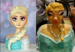 《冰雪奇緣》粉絲過生日 艾莎公主蛋糕讓人好「驚喜」…