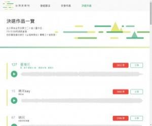 蔡英文競選歌曲網路票選 前20強出爐!