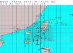 蓮花颱風陸警2:30發布 屏東、台東嚴防豪雨