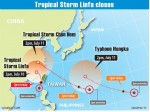 《TAIPEI TIMES 焦點》 Tropical storm to bring heavy rainfall