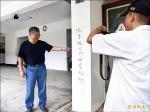 國民黨金門縣黨部發現塗鴉「洪秀柱不可能當總統」