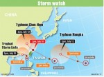 《TAIPEI TIMES 焦點》 Storm misses; typhoon approaches