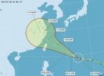 中颱昌鴻恐成強颱 最快明天清晨發海警