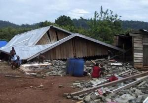 印尼發生7.0強震 建築物倒塌1人失蹤