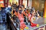 竹南天文宮》105流浪神像 90尊找到新家