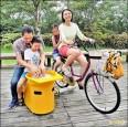 腳踏車拉坯機 陶博館好好玩