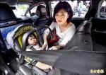 小黃附設兒童安全椅 120輛上路