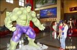 《 綠巨人浩克、浩克毀滅者亮相》台南龍崎文衡殿 再添兩尊「英雄」