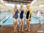 救生員班3姊妹花 水中自我挑戰