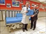 企業捐150防褥瘡床墊 助塵爆傷患