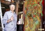 相隔45年 門神彩繪師重見年少作品