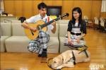 視障夫妻赴日築夢 導盲犬跟著留學