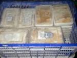 上引水產備貨區 查獲過期生干貝