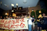 《TAIPEI TIMES 焦點》 Angry students storm legislature