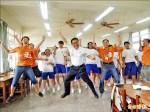 台中》美華裔青年 自費來台辦美語營