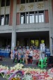 學生演奏台版「悲慘世界」 教育部前撤拒馬、蛇籠