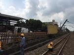 卡車扯斷台鐵電車線 恐引發西部幹線大誤點