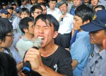 《TAIPEI TIMES 焦點》 Wu, students end talks on sour note