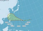 中颱蘇迪勒增強變胖 週末影響台灣