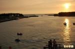 台南將軍漁港 也有魚尾獅
