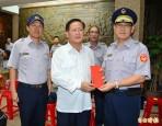 陳國恩探視教部警察 將撙節人力