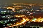國道三號夜景 驚豔攝影同好