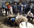 嘉義大林鬧區開挖測油氣 結果是…