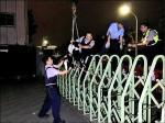 羊群三度脫逃 警最終用吊車送回