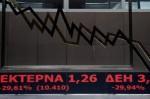 希臘股市好慘  昨重新開市暴跌16%