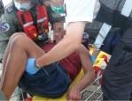 船員台東外海重傷 空軍救護隊緊急救援