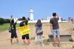 反課綱環島發傳單 中國客鼓勵、台導遊嗆聲