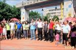 大里下水道工程停擺 居民抗議