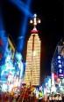 慶讚中元遶境 祈福聲中放水燈